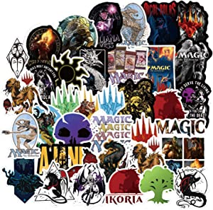 Kilmila Stickers for MagicTheGathering [55PCS]. Aesthetic Stickers Ins Vinyl Sticker for Laptop Cups Phone Case Computer PC Water Bottle Bike Helmet Car