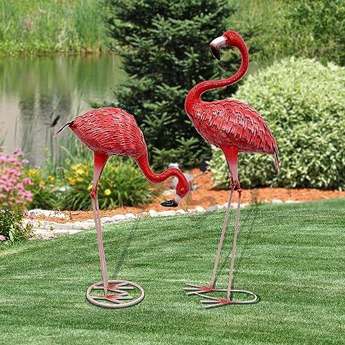 CYA-DECOR Garden Flamingo Statues and Sculptures