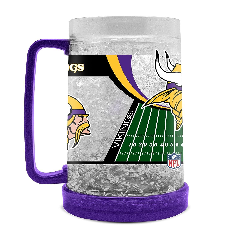 Duck House NFL Unisexe Cristal congélateur Tasses, mixte, LCM, violet, 16 Ounce DuckHouse