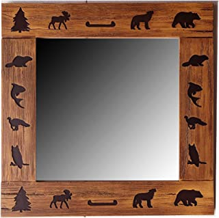 product image for Piazza Pisano Rustic Carved Mirror