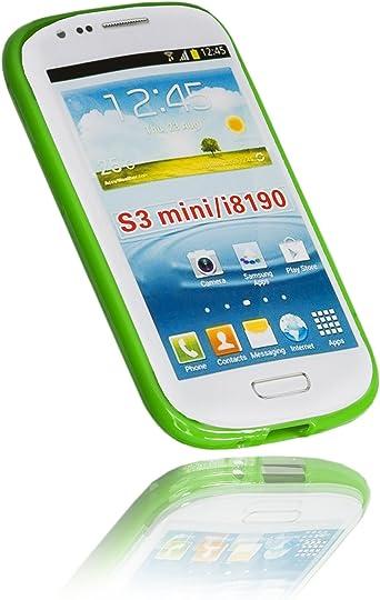 Samsung GALAXY S3 Mini carcasa verde: Amazon.es: Electrónica