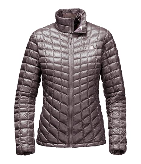 The North Face Women's ThermoBall Full Zip Jacket(X-Small,Rabbit Grey/
