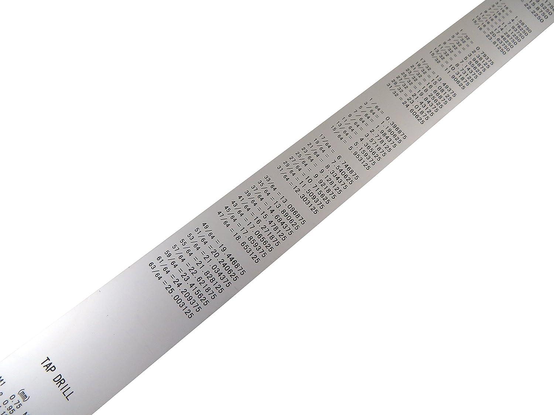 Shinwa H101-E 600 mm Rigid Zero Glare Metric Machinist Ruler//Rule Scale .5 mm /& mm