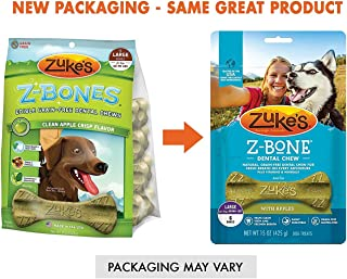 product image for Zuke's Z-Bones Clean Apple Crisp Dental Chew