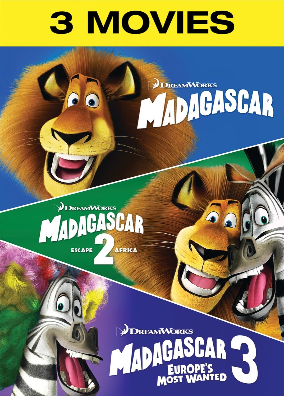 Amazon Com Madagascar Madagascar Escape 2 Africa Madagascar 3 Europe S Most Wanted Ben Stiller Chris Rock David Schwimmer Jada Pinkett Smith Sacha Baron Cohen Cedric The Entertainer Andy Richter Bob Saget