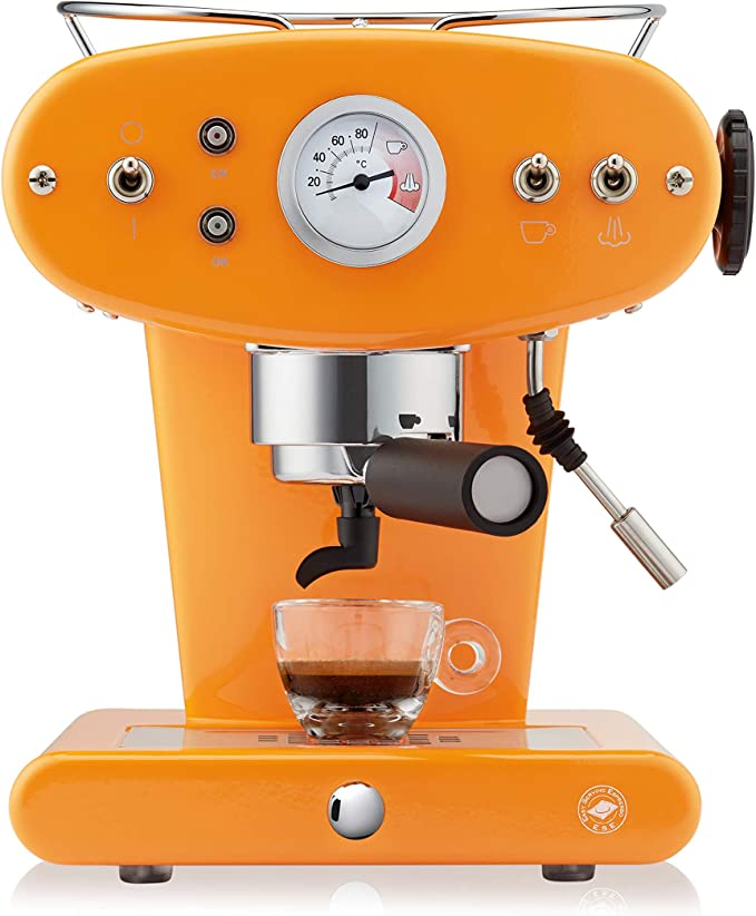 FrancisFrancis! X1 Trio Máquina de café espresso, Metal, Azul claro: Amazon.es: Hogar
