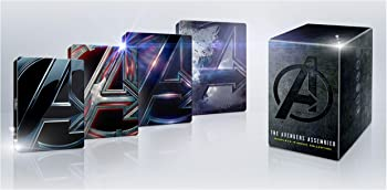 Avengers Complete 4 Movie Steelbook Collection
