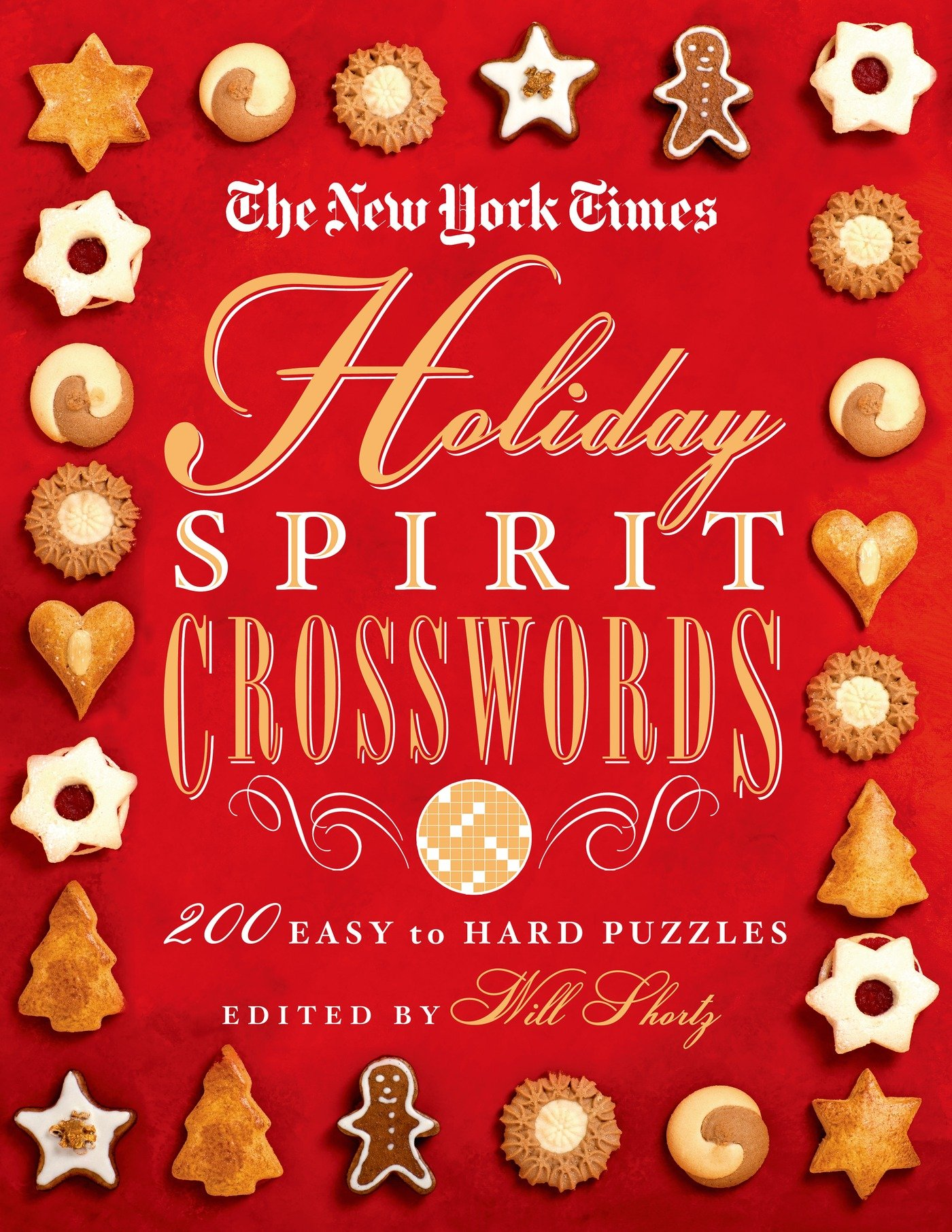 The New York Times Holiday Spirit Crosswords: 200 Easy to Hard Puzzles PDF