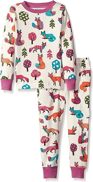 Hatley Little Girls  Pajama Set-Party Owls