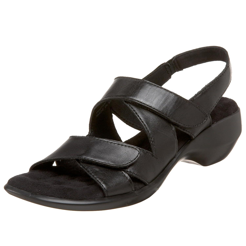 Walking Cradles Women's Lark Slingback Sandal B002PU8J4M 9 N US|Black Leather