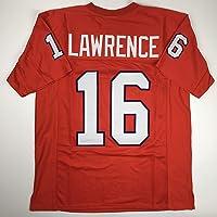 $49 » Unsigned Trevor Lawrence Clemson Orange Custom Stitched College Football Jersey Size…