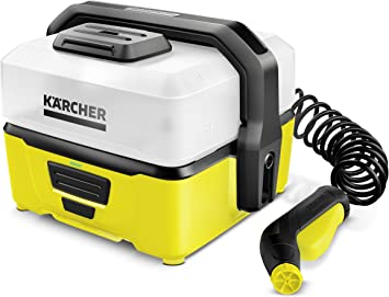 Kärcher OC3 Portable Battery Powered Cleaner - The Most Gentle