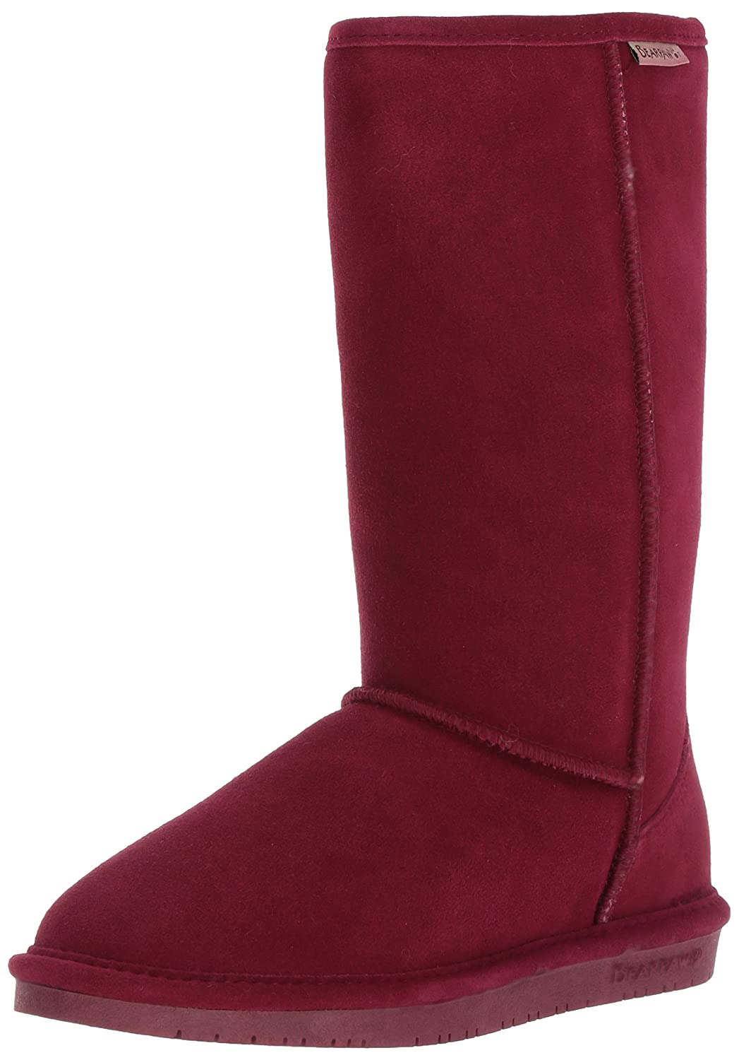 BEARPAW Women's Emma Tall Mid Calf Boot B01DK4A0VQ 7 B(M) US|Bordeaux