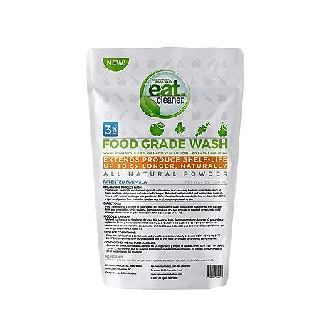 Amazon.com: Comer limpiador grado alimenticio lavar: Home ...
