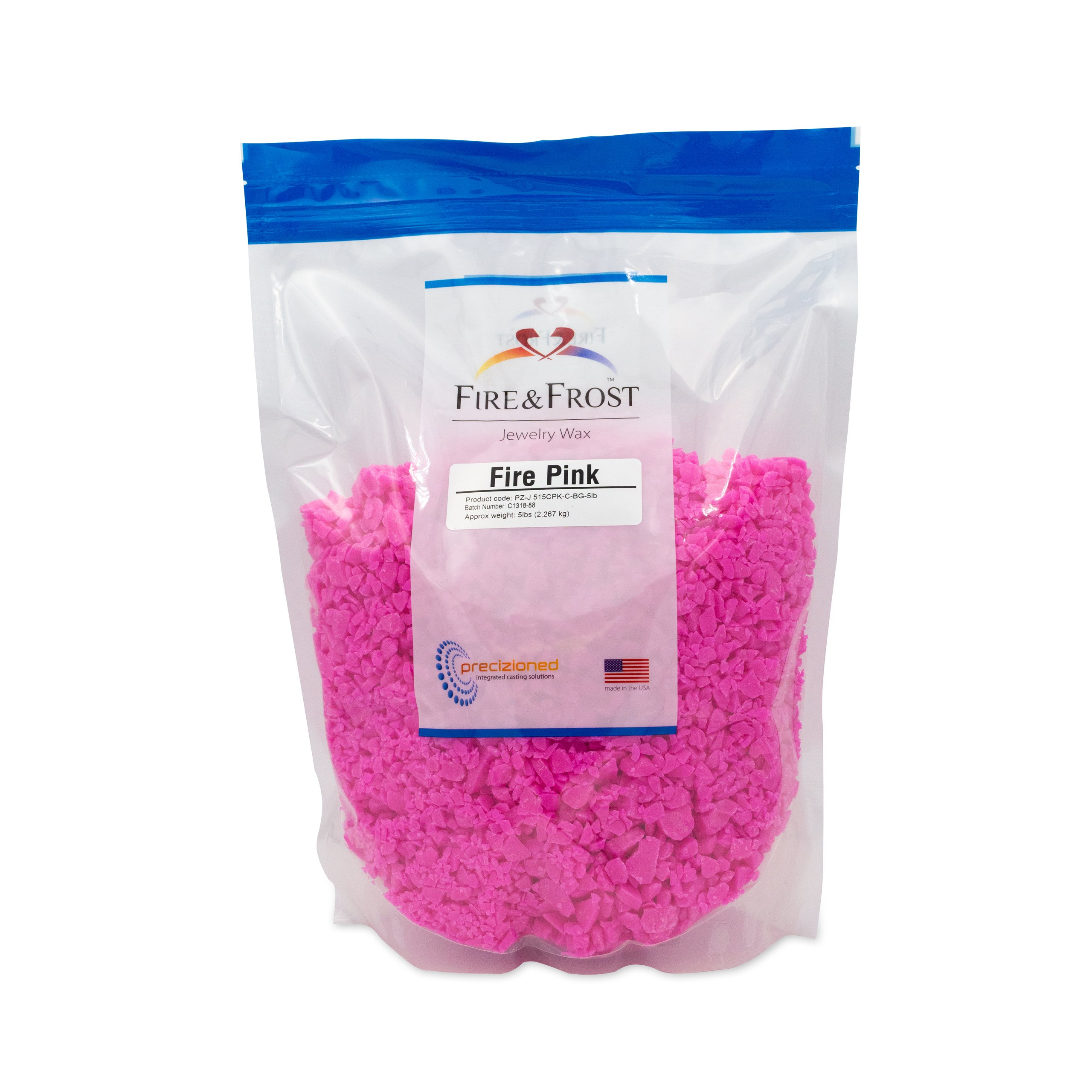 Fire Pink Jewelry Injection Wax 5lb
