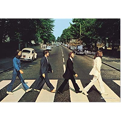 Puzzlelife JIGSAW Paper Puzzle 500pcs Beatles Abbey Road Hobby DIY Decoration /item# G4W8B-48Q53689: Toys & Games