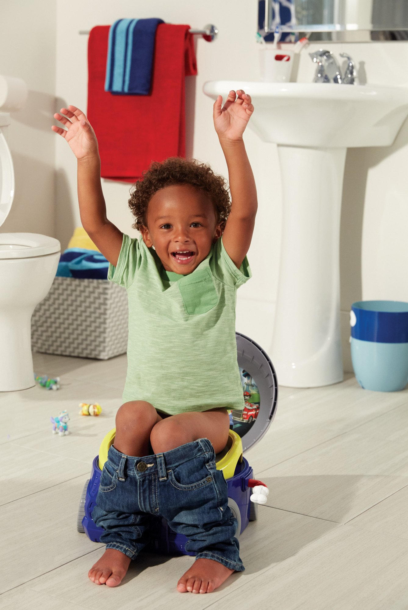 The First Years Nickelodeon Paw Patrol Chase 3-in-1 Potty System by The First Years (Image #3)