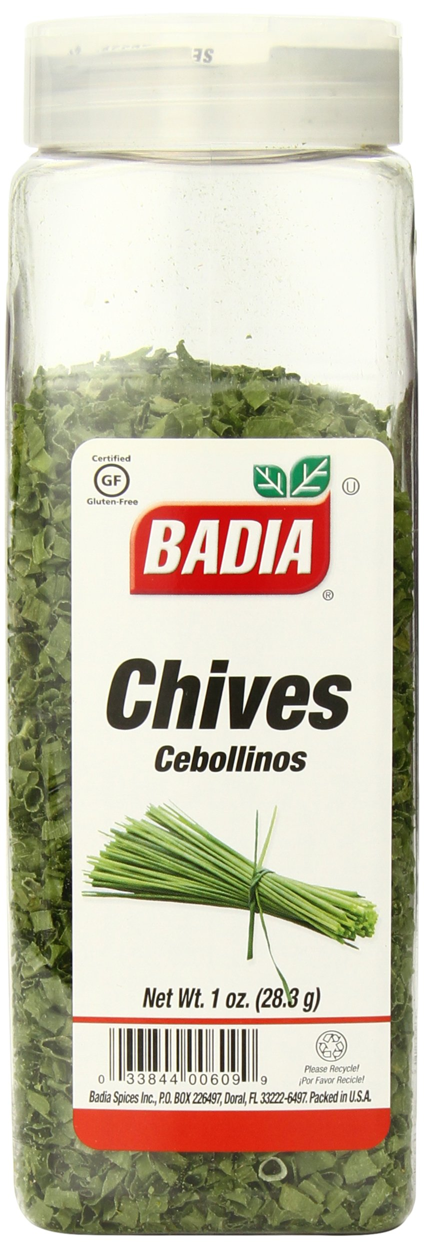 Badia Chives Dehydrated, 1 Ounce (Pack of 6) by Badia (Image #1)