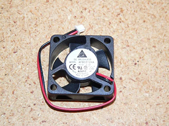 1x 50x50x10mm 5010 7 blades 12V 0.15A 2pin Connector Brushless DC Cooling Fan US