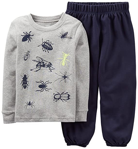 0710f4648 Image Unavailable. Image not available for. Color: Carters Baby Boys Bugs  All Over Pajama ...