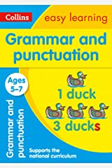 Grammar and Punctuation Ages 5-7: Prepare for school with easy home learning (Collins Easy Learning KS1) Kindle Edition