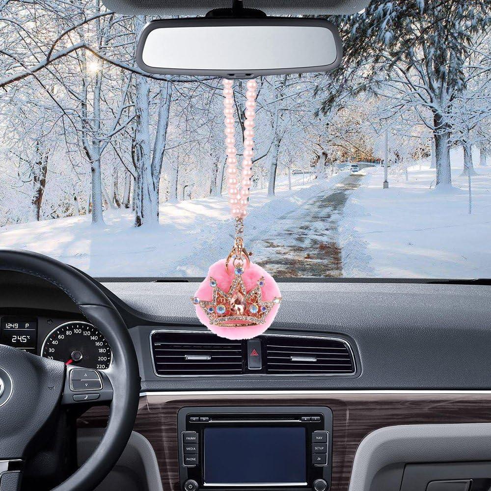 MINI-FACTORY Car Rearview Mirror Hanging Bling