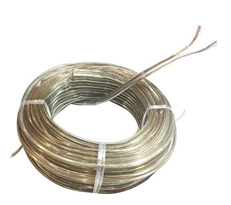 Oxcord 23/55 Gauge Oxygen Free (Bared & Tind Copper) Speaker Wire Cable (15mtr / 49.21 Feet) Copper