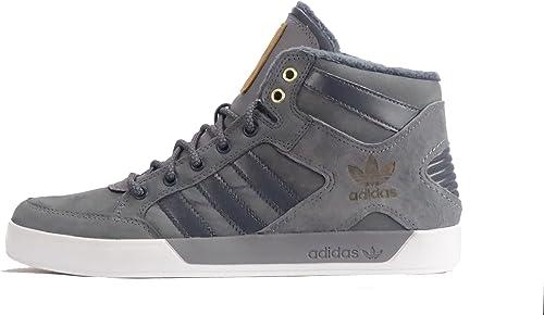 Dar a luz exagerar Cabeza  Adidas Hardcourt Hi Waxy Crafted - Men Shoes (8 UK) Grey: Amazon.co.uk:  Shoes & Bags