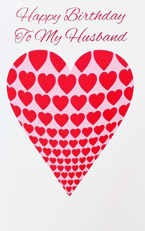 "Amazon.com : Happy Birthday To My Husband -""I Love You With All My"