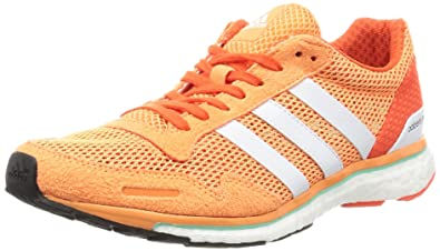 finest selection 3f1aa 482bb adidas Adizero Adios, Chaussures de Running Entrainement Femme, (Easy  OrangeFTWR White