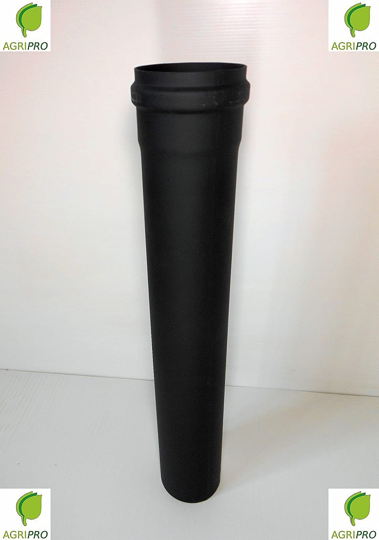 Tubo de evacuación de gases para estufas de pellet. Diámetro: 80 mm. Cantidad: 1 unidad: Amazon.es: Bricolaje y herramientas