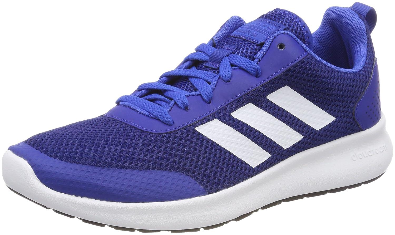Adidas Element Race, Zapatillas de Deporte para Hombre 45 1/3 EU|Azul (Reauni / Ftwbla / Azul 000)