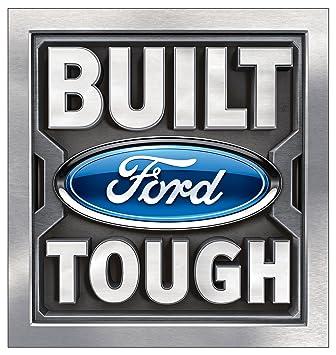 Built Ford Tough >> Amazon Com Built Ford Tough Logo Wall Decal 4ft 36 X48 Sticker