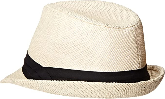 Summertime Beachside Fedoras Large//Extra Large, Vintage Black