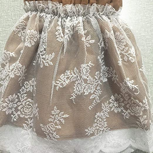 Encaje Bedding Ruffled Bedskirt, Decoracion Medidas canapé Falda ...