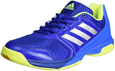the latest fdd75 59c80 adidas Herren Multido Essence Handballschuhe, Blau (Collegiate Royal Silver  Metallic Shock Blue