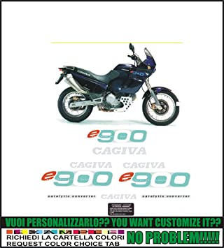 kit adesivi decal stikers cagiva elefant 900 ac 1995 ability to rh amazon co uk Cagiva 900 I Get 1993 Cagiva 900 I EGT 1993
