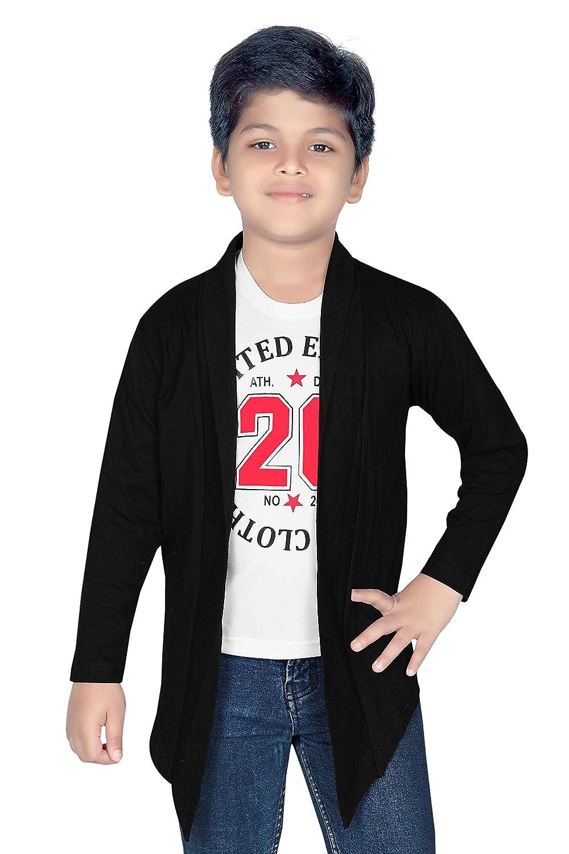 Clothify Kids Plain Shrug: Amazon.in: Clothing & Accessories