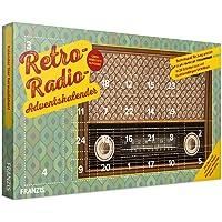 FRANZIS Retro Radio Adventskalender 2019 | UKW Radio zum Selberbauen | Technikspaß für Jung und Alt | Einfache Montage ohne Löten | Ab 14 Jahren