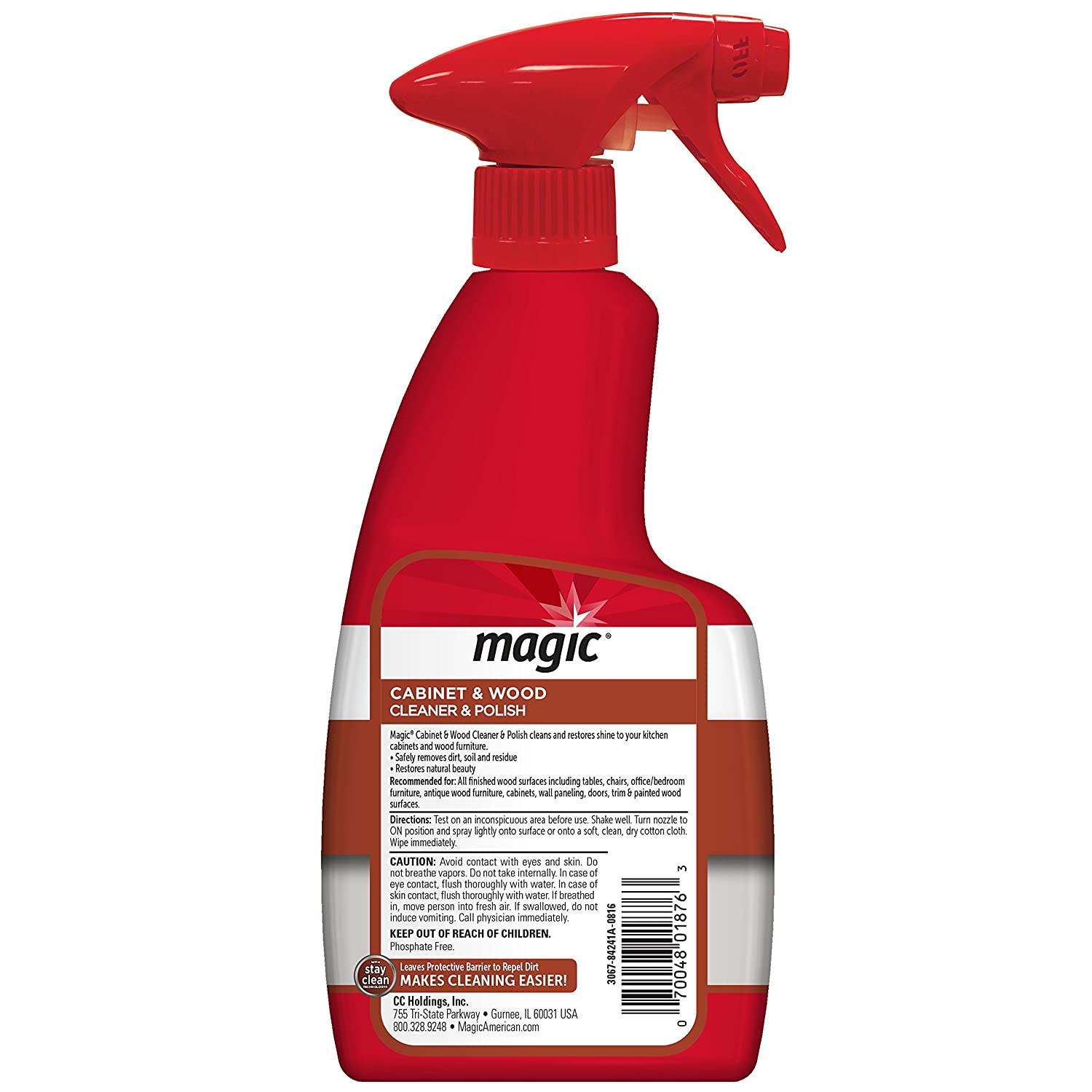Amazon.com: Magic Cabinet & Wood Clean & Shine, 14 fl oz: Health ...