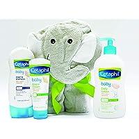 Cetaphil Baby Sensitive Skin Bath Time Essentials Gift Set
