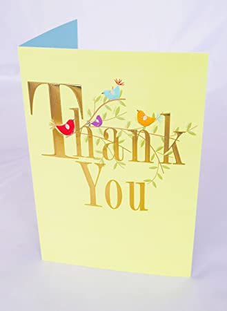 Thank You Card Kind Friend Friendship Him Her Male Female Greeting