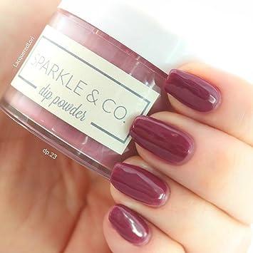Sparkle & Co  Dip Powders – dp 23 Cranberry