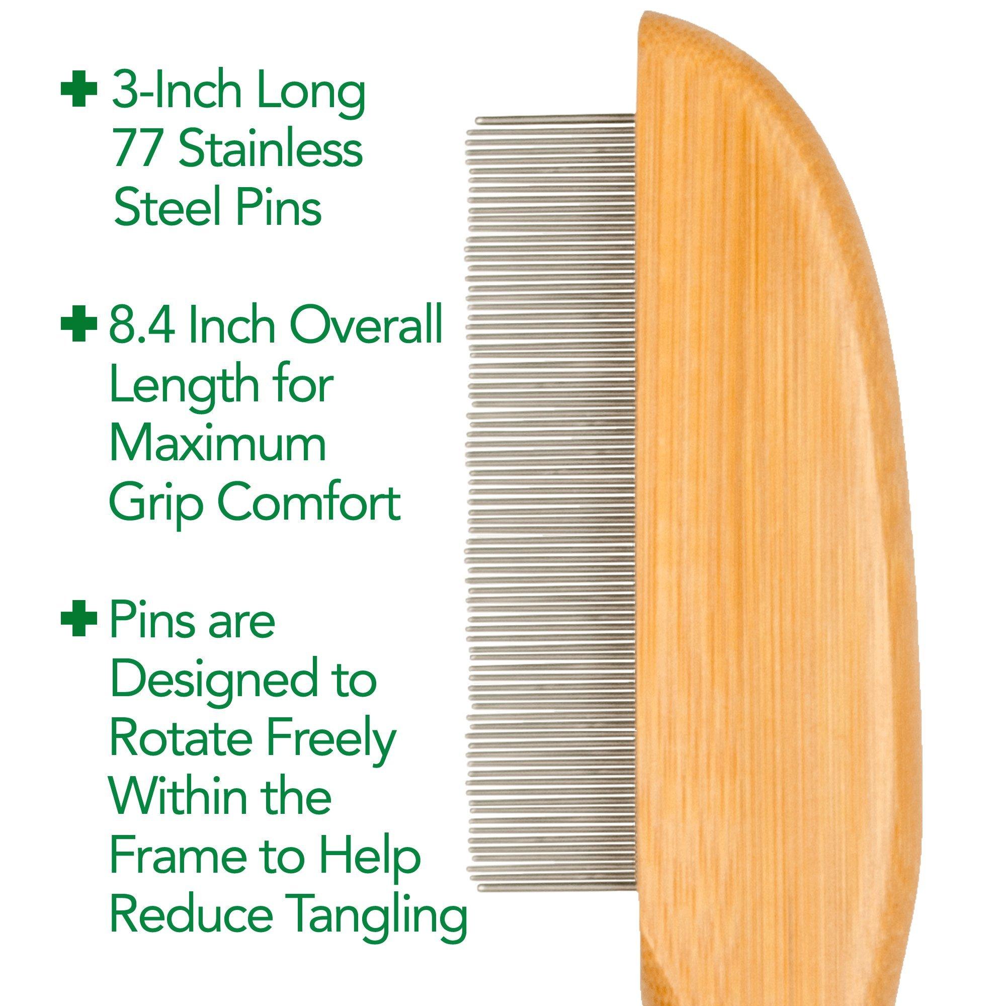 Vet's Best Bamboo Flea Comb for Cats by Vet's Best (Image #2)