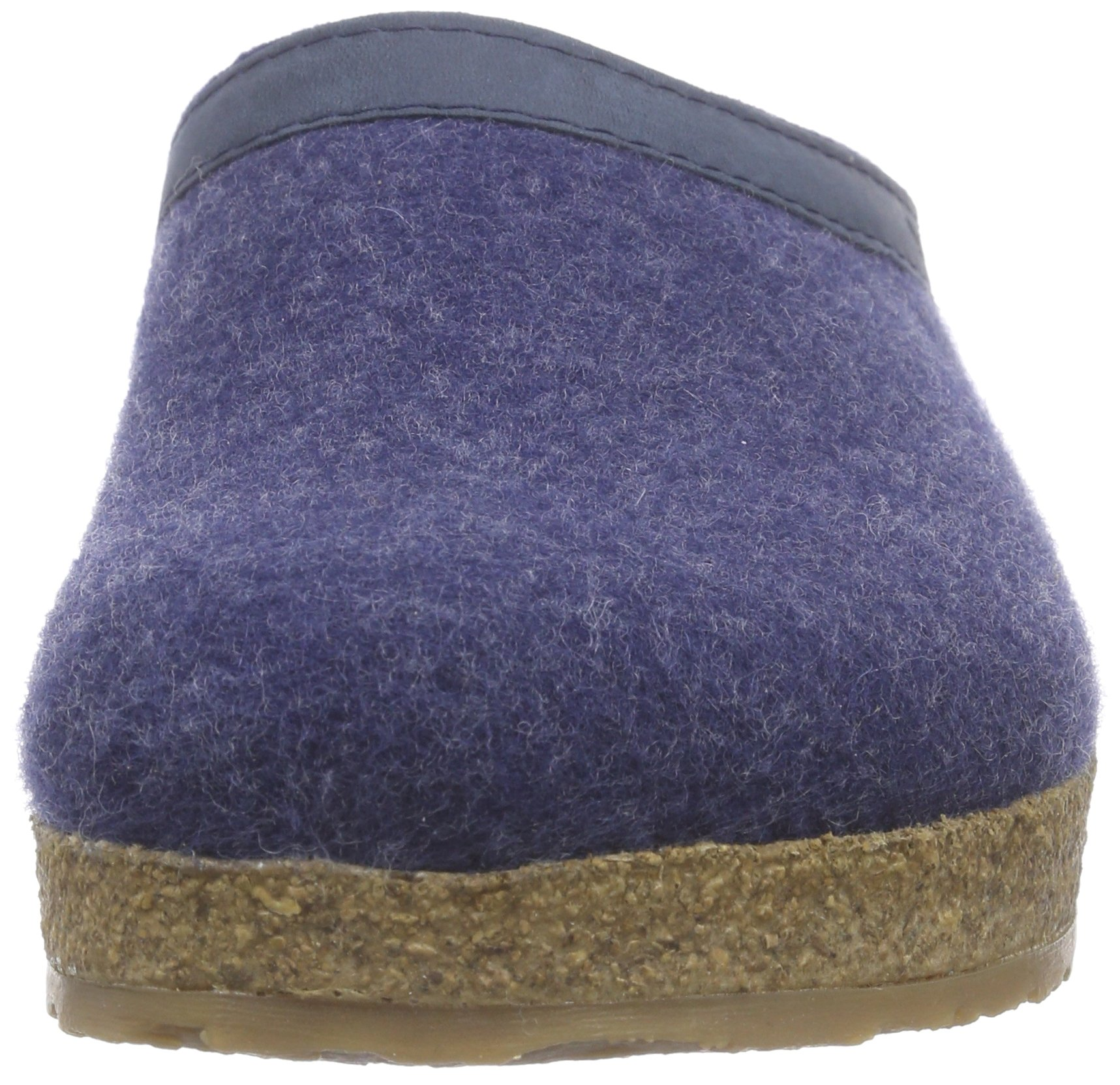 Haflinger 713001 Slippers, Filztoffel Grizzly Torben, Jeans, Gr 50 by Haflinger (Image #4)