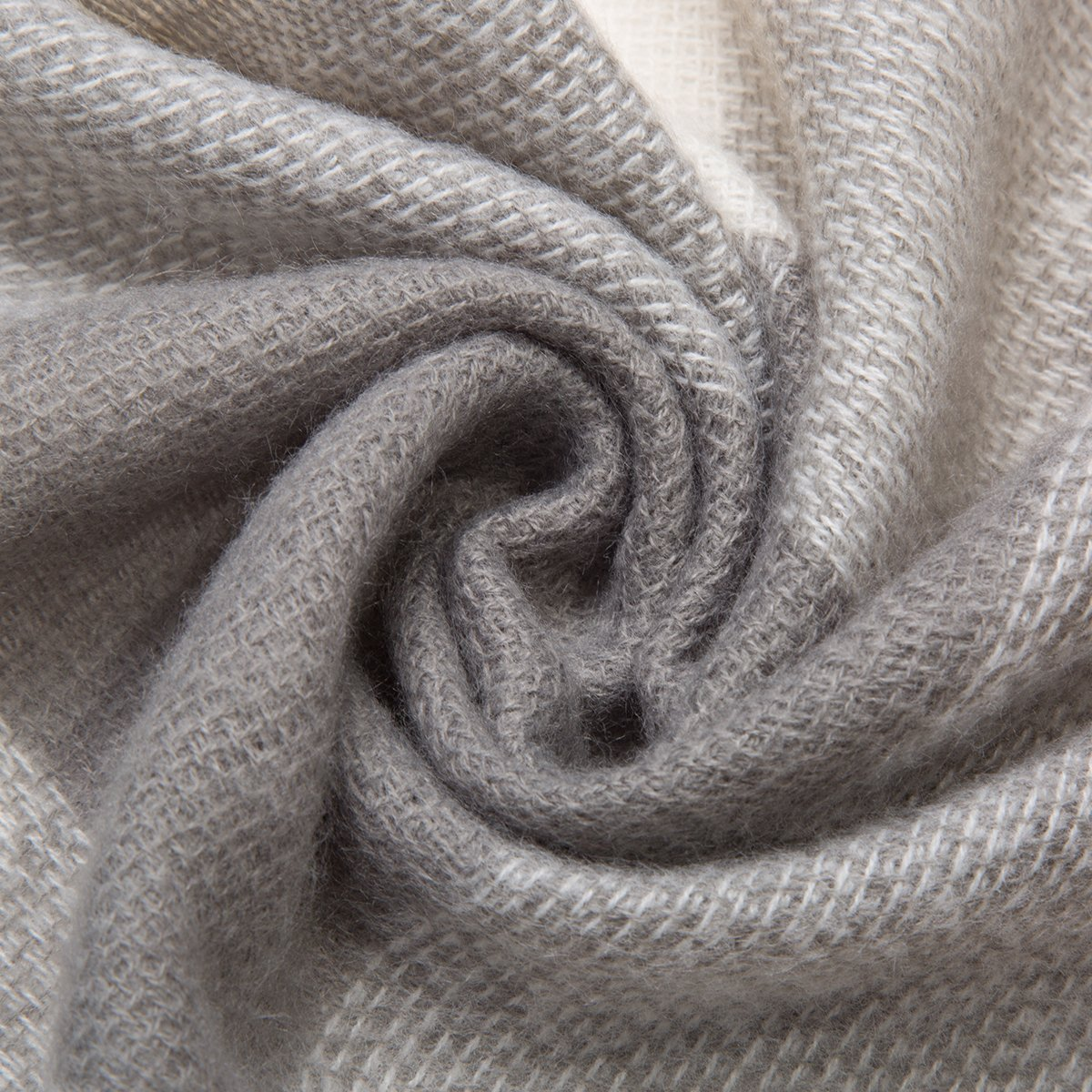 WISH CLUB Frauen Winter Schal Gitter weich Chunky Square Schals Damen warm Schal Plaid Wrap Decke