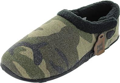 380e6b801 Homeys Men s Tommy Slipper Camo 9 10  Amazon.co.uk  Shoes   Bags