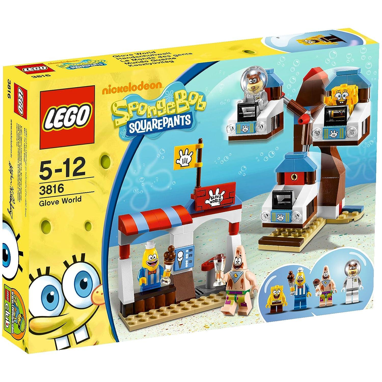 Lego Spongebob Squarepants 3816 Glove World Amazon Toys Games