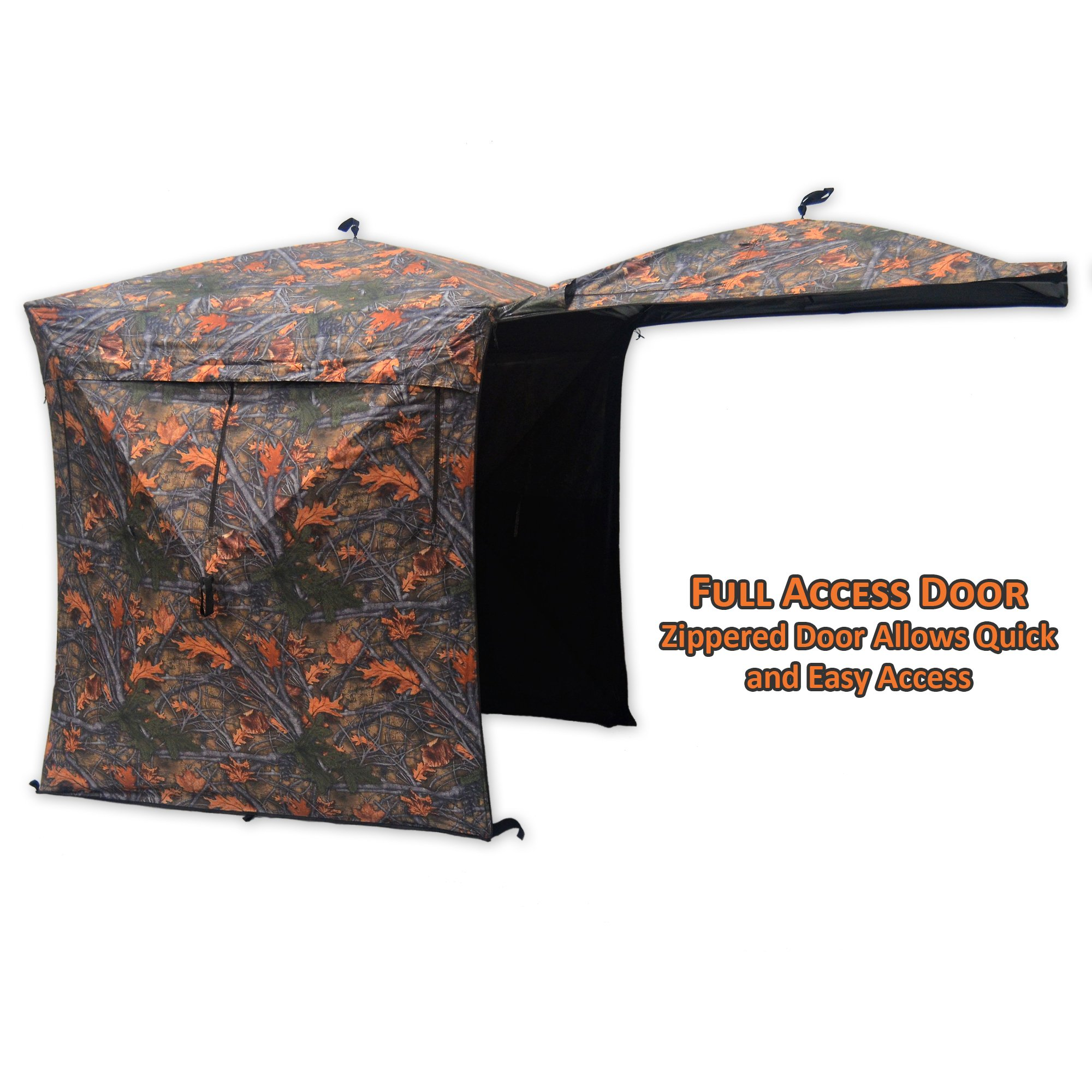 Copper Ridge Deluxe Hub Blind Camouflage by Copper Ridge (Image #3)
