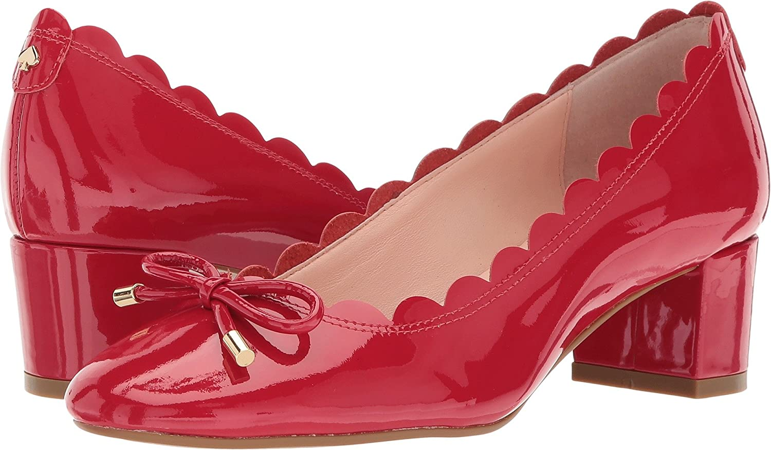 8334b4a828 Kate Spade New York Women's Yasmin Charm Red Patent 11 M US: Amazon.co.uk:  Shoes & Bags